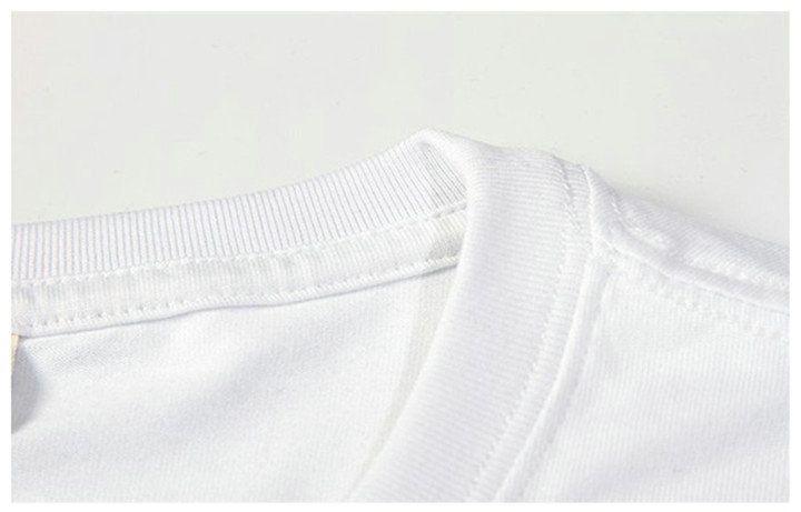 T-shirt bienveillant démon chat dessus de t-shirt Supernatural unisexe solidité t-shirts Colorfast print clothing T-shirt en modal de couleur pure