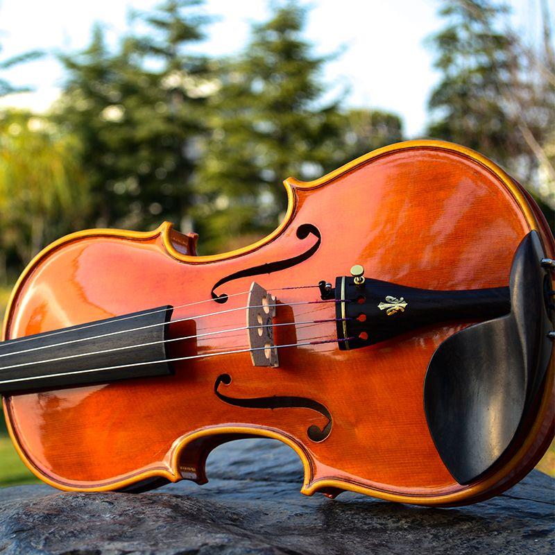 Satın Al Yeni Italya Christina V05a Profesyonel Keman Violino 44 3