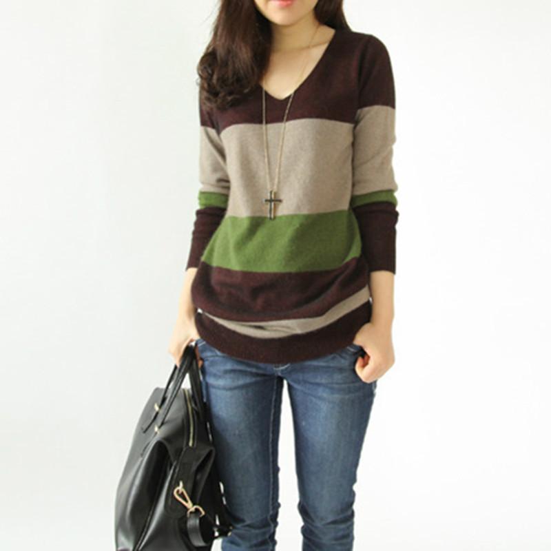 quality design ff547 11d32 Maglione autunno inverno moda lana cashmere lungo donne vestono maglioni  caldi maglioni pullover lavorato a maglia maglieria femminile maglioni di  ...