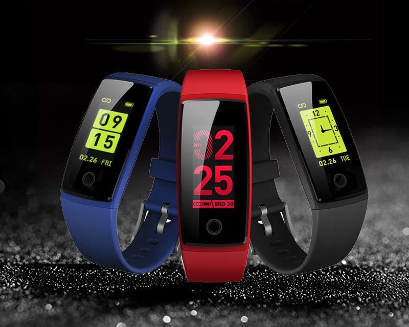 Sport & Freizeit Running Farbdisplay Smart Armband Mode GroßEn Bildschirm Sport Bluetooth-Uhr