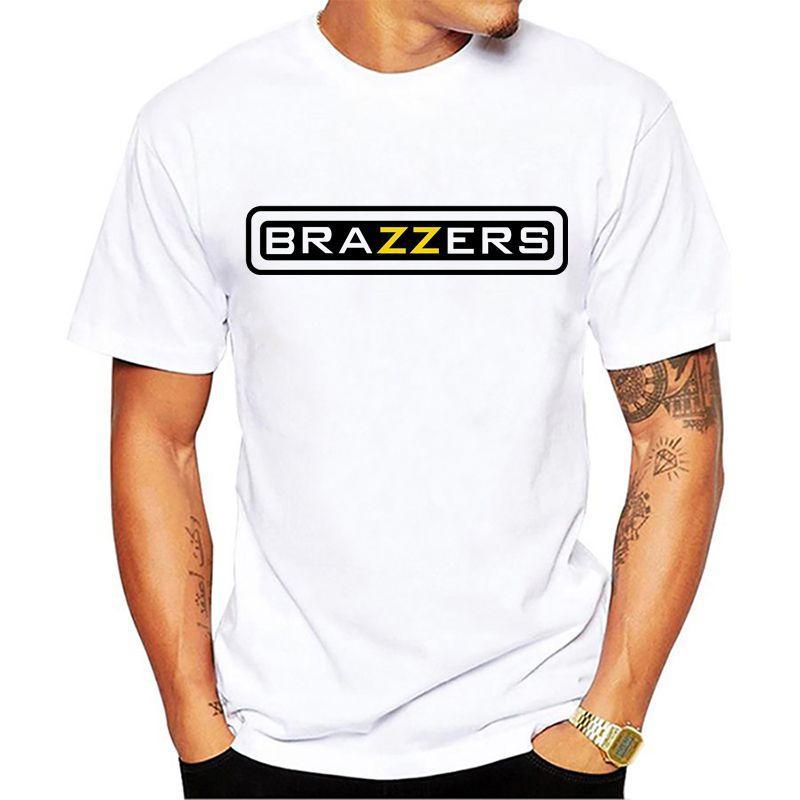 low priced b0859 6e274 Crazy T-shirt Designer Brazzers Men s T Shirt Design Your Men T Shirt Short  Sleeve