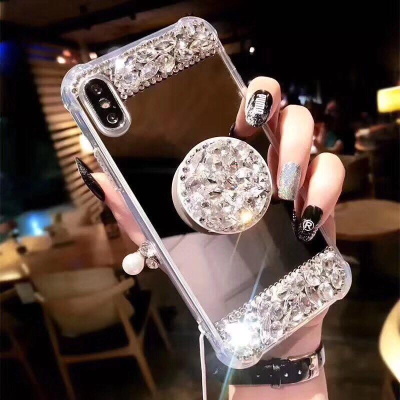 7455ba3dce For Iphone 6 6s 7 8 Plus X Luxury Fancy Glaring Sparkle Shining ...