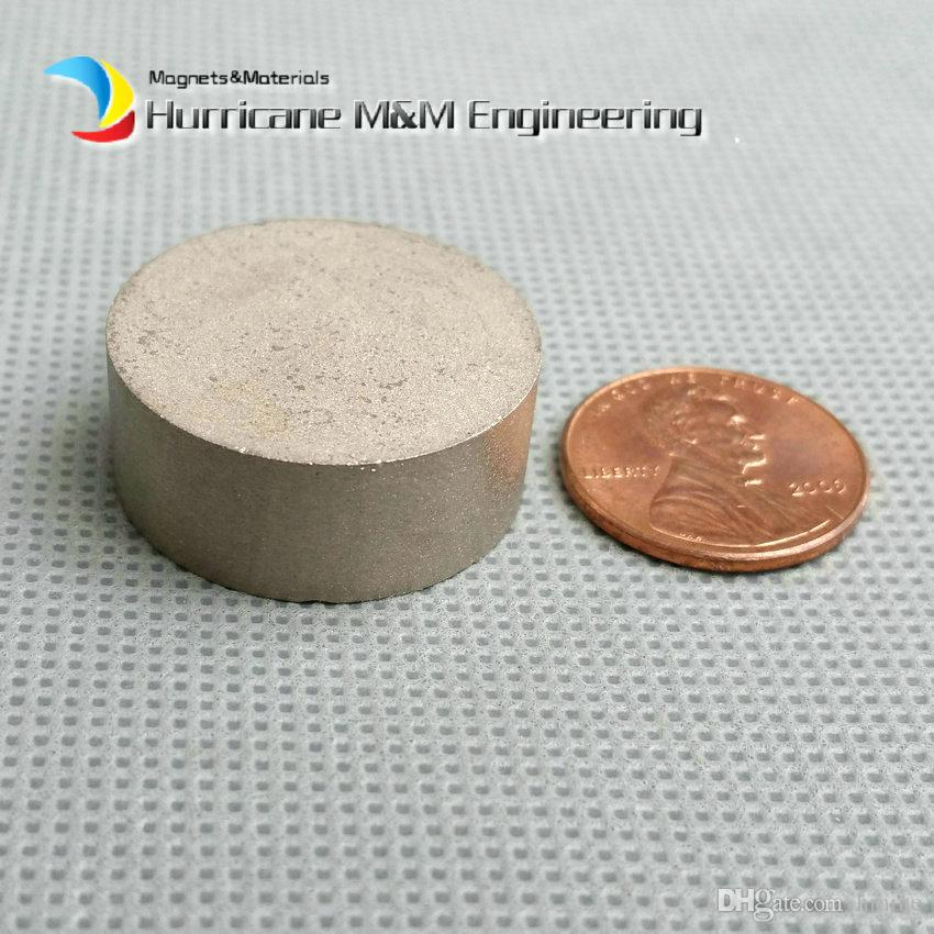 2 unids SmCo Imán Diámetro del Disco de la Barra 25x10 mm aproximadamente 1