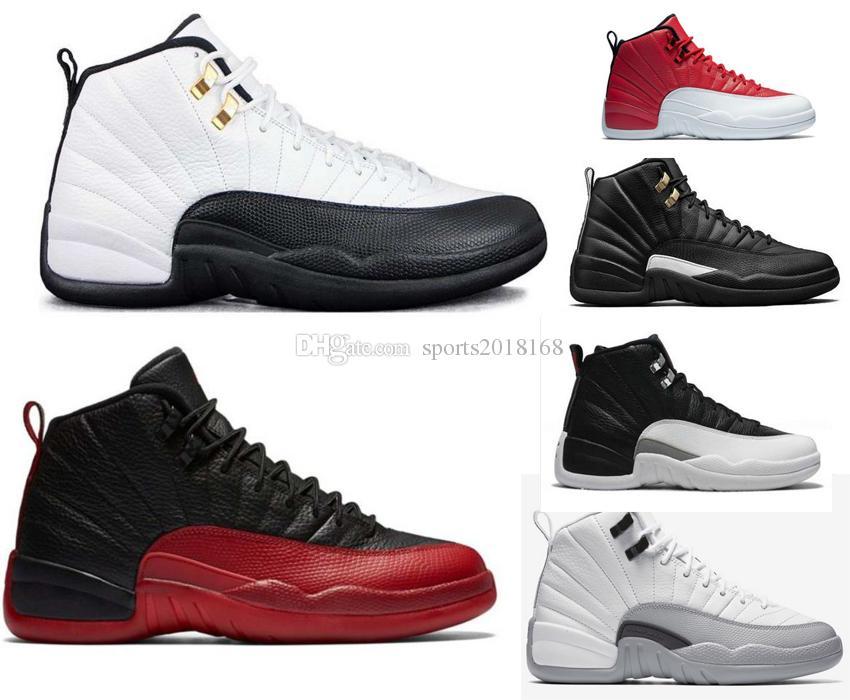 62d1490a3e6c High Quality Hot News 12 12s Mens Womens Basketball Shoes Ovo White ...