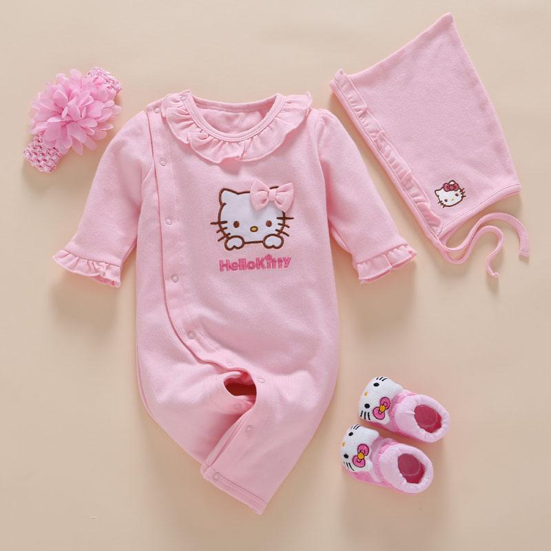 b9699781b 2019 New Born Baby Girl Clothes Romper Cotton Cute Embroidery Baby ...