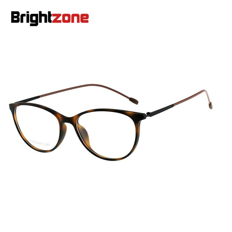 f3583232c51 2019 Brightzone TR90 Round Glasses Slim Frame Men And Women Spectacle Frame  Ancient Ways Full Fine Leg Optics Oculos Case From Xiamenwatch