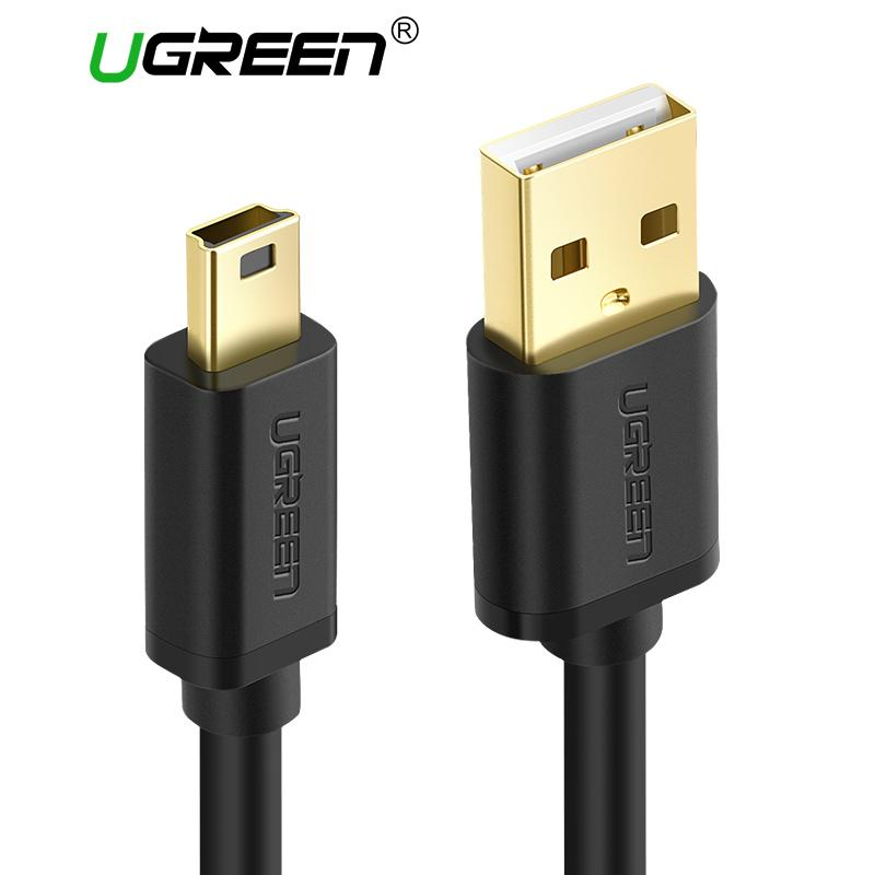 Ugreen Mini USB Cable Mini USB to Fast Data Charger Cable for MP3 MP4 Player Car DVR GPS Digital Camera HDD