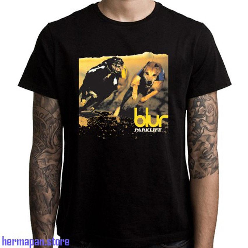 def5cb32 Blur Parklife Album Cover Rock Legend Men'S Black T Shirt Funny Unisex  Casual Tee Awesome Tshirt Designs 10 T Shirts From Clothes_cafe_charity, ...