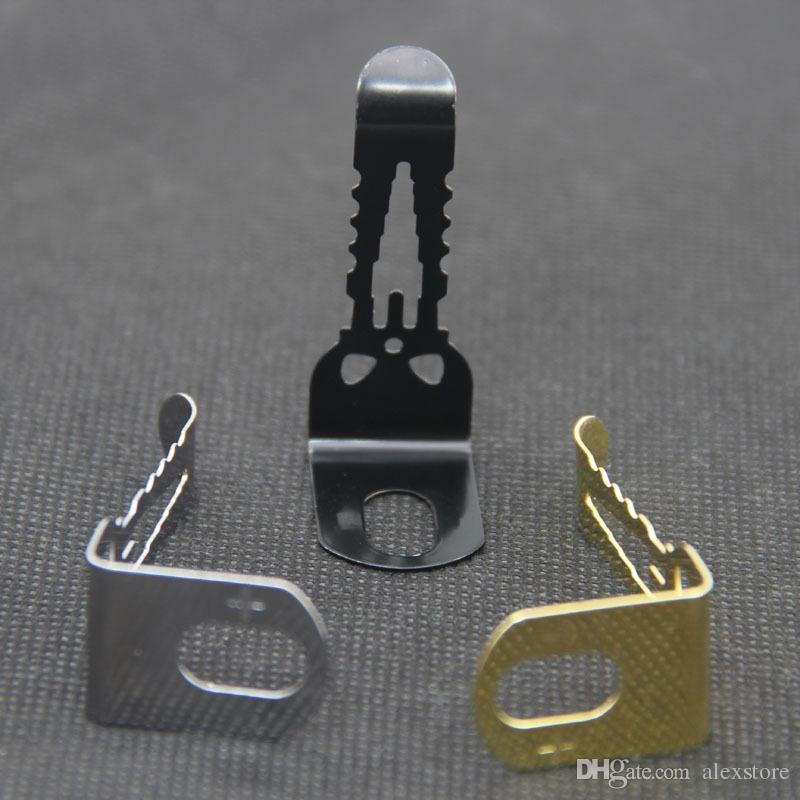 Clip cintura Vape Alienwalker Fibbia trasporto adatta tutti i dispositivi Vape Robusto e robusto gancio in acciaio inox Alien Walker mod. Box DHL