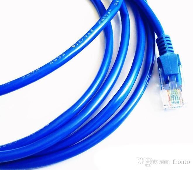 Ethernet Cable 3ft 1M 3m 5m RJ45 Ethernet Network Patch Cable Lan Cable Cord Blue Color Wire Jumper Network Connections RJ45 CAT5 5E CAT5E