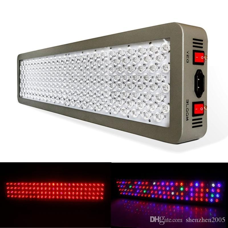 Platinum Series P600 600W*2 1200W LED Grow fill Light AC 85-285V Double Chip Hydroponics DUAL VEG FLOWER FULL SPECTRUM Plant Grow Light