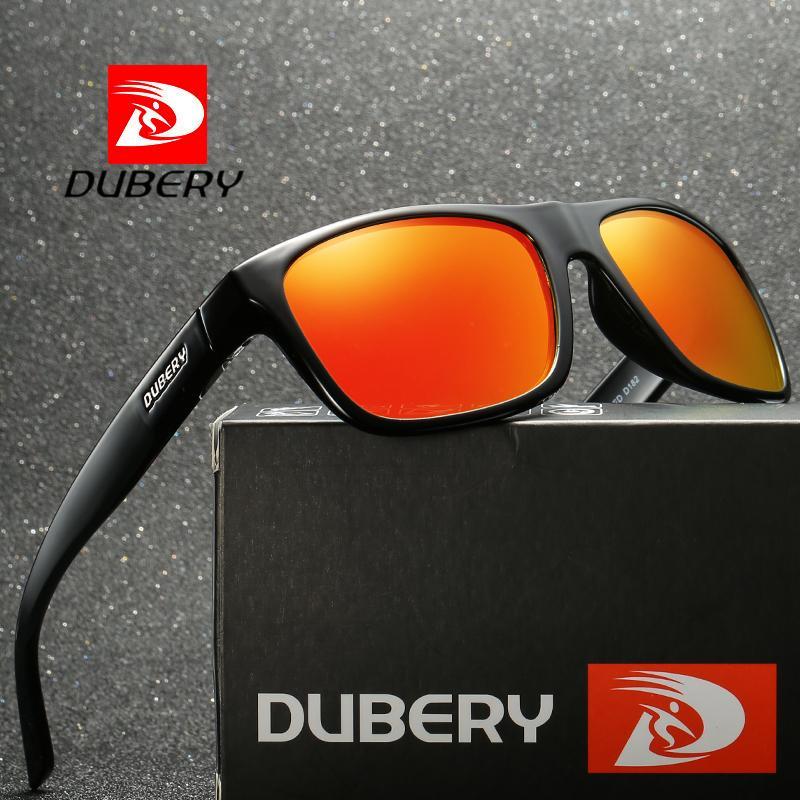 Compre DUBERY Gafas De Sol Hombres Polarizados 2018 Deporte Cuadrado UV400  Gafas De Alta Calidad Retro HD Para Diseño De La Marca Espejo A  18.57 Del  ... 225d16f3cb4a