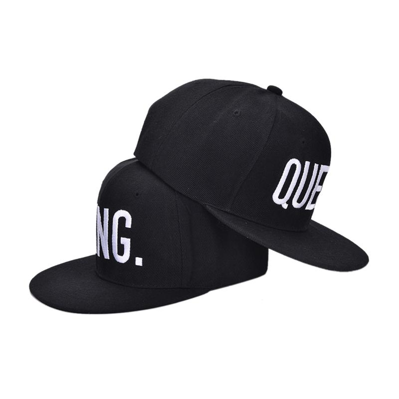 950213f698d Embroidery KING QUEEN Snapback Hat Men Women Couple Baseball Cap Gifts  Fashion Hip Hop Sport Caps Embroidered Hats Leather Hats From Wdrf