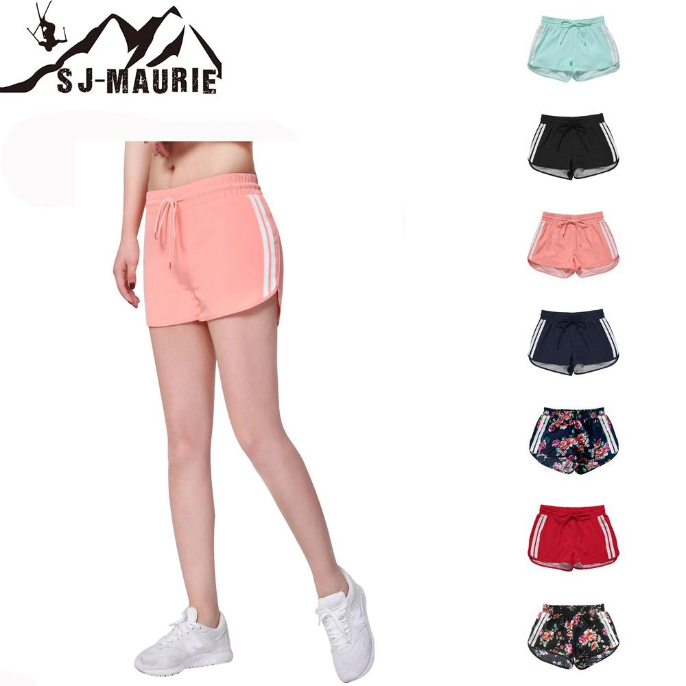 SJ-Maurie Short Running Women Slim Fitness Running Shorts 7 Colors Outdoor Sports Fitness Gym Yoga Shorts XS,S,M,L,XL