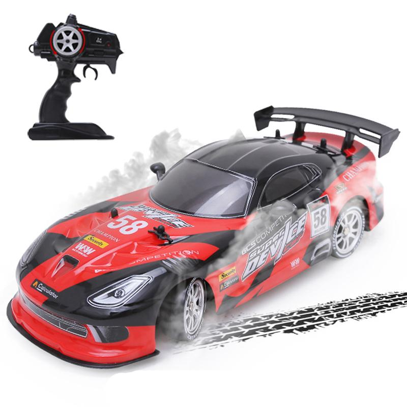 Rc Car For Gtr Dodge Viper 4wd Drift Racing Championship 2 4g Off