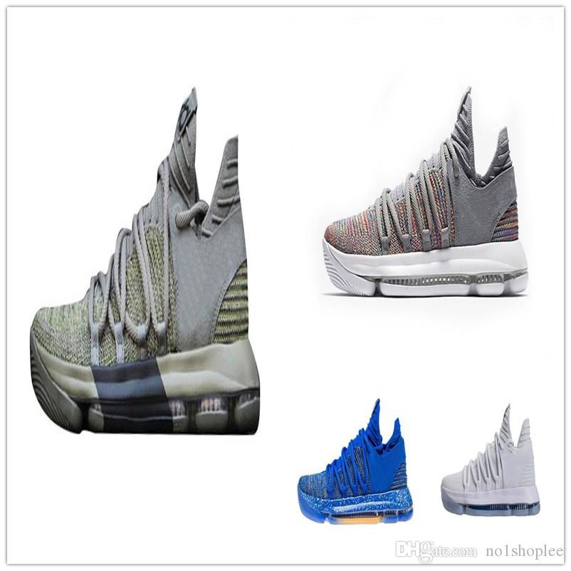 c37ed5706b01 Kevin Kd 10 Men Basketball Shoes Warriors Home Wolf Durant 10 Training  Sports Shoes Sneakers Jordans Sneakers Sneakers Sale From No1shoplee