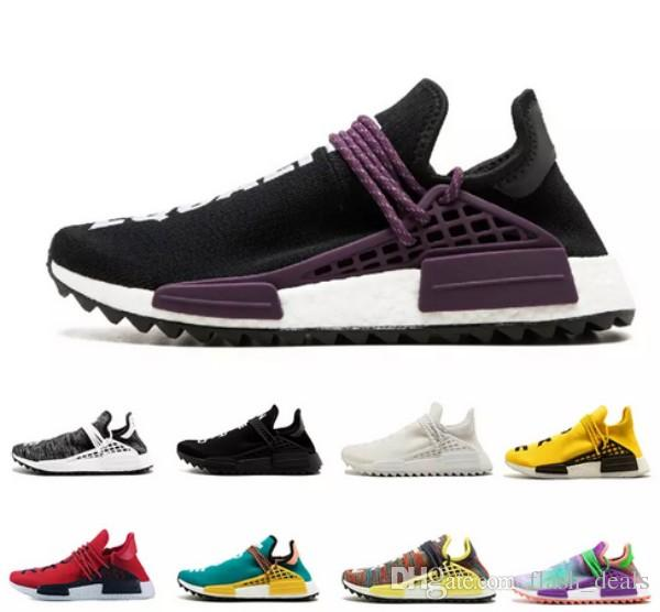 564d4db7b 2018 NMD Human Race TR Men Running Shoes Pharrell Williams Nmds Human Races  Pharell Williams Mens Womens Trainers Sports Sneakers 36 45 UK 2019 From ...