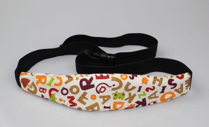 Asiento de coche ajustable para bebés Nuevo reposacabezas Cabeza de dormir Cubierta de la almohadilla de apoyo para niños Accesorios interiores de viaje Cinturón de seguridad para niños LC768
