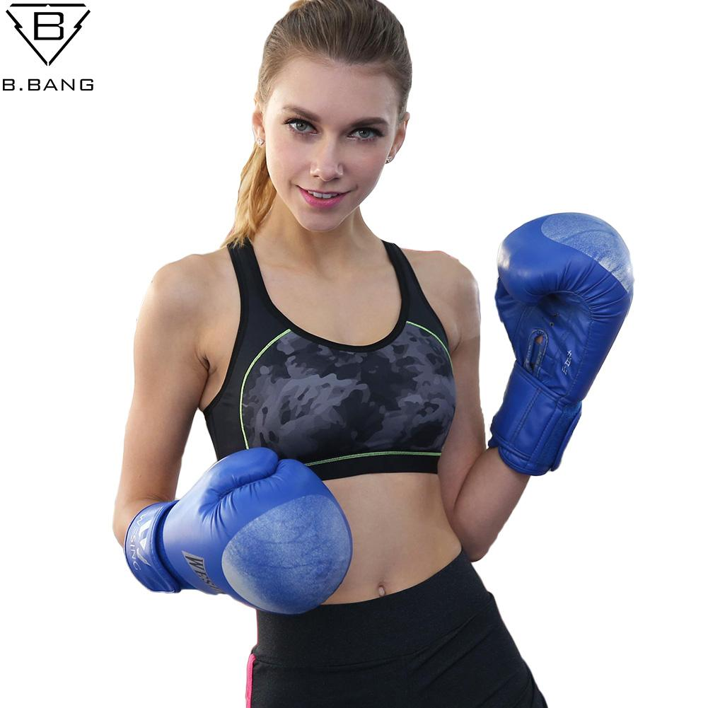 5591c682bbd4a 2019 B.BANG Women Sports Bra Fitness Tops Shakeproof Padded Yoga Bra  Workout Gym Top Wire Free Push Up Running Clothing For Woman From Lookest
