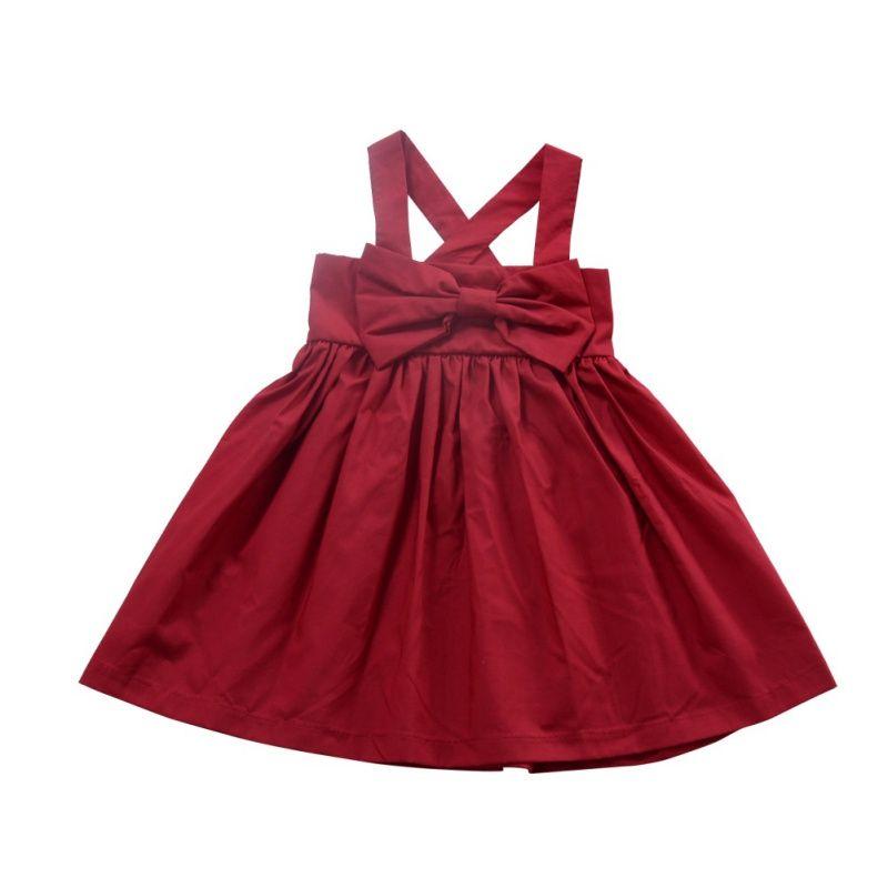 Summer Beach Style Baby Girls Dress Party Backless Sukienki Dla Dziewczyn Vintage Berbeć Dziewczyna Odzież Vestidos