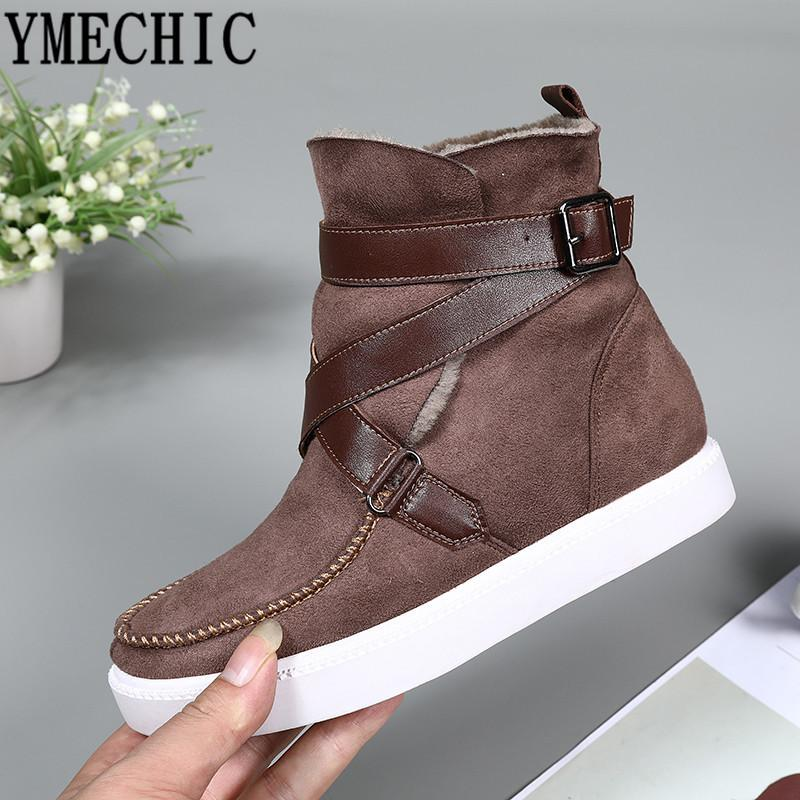 Wholesale Flat Retro Street Cross Strap Buckle Booties 2018 Woman Flat Wholesale ... 359a70
