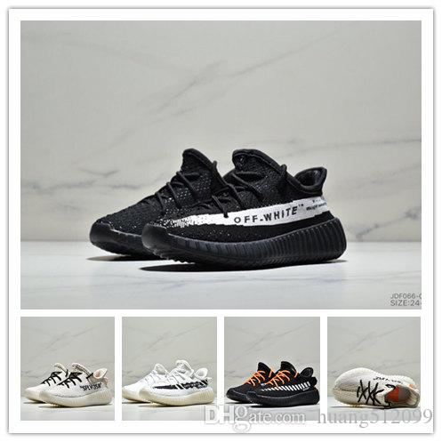 fa422c32aac Box2018 Best Baby Kids Run Shoes Kanye West SPLY 350 Running Shoes ...