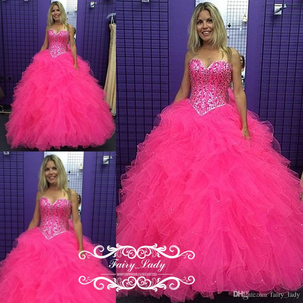 4d2dbf53b5 Quinceanera Dresses Hot Pink Puffy - Gomes Weine AG