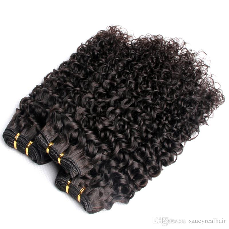 Brazilian Hair Weave Natural Color 100% Unprocessed Virgin Hair Bundles Remy Human Hair Extensions,100g pack &