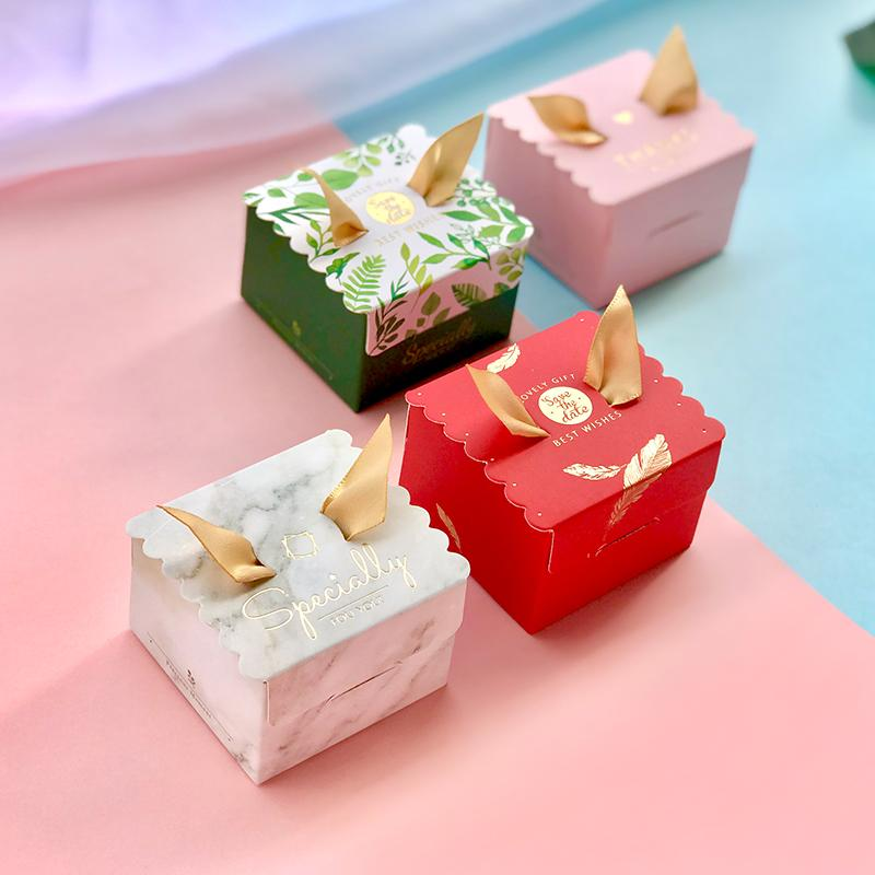 Diy Small Cute Hot Sale New Wedding Gift Box Wedding Creative Small