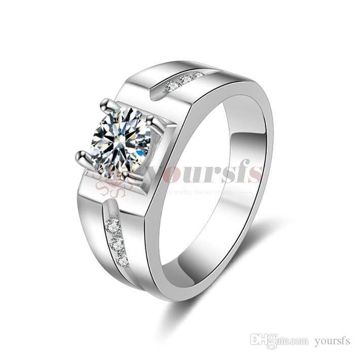 199d756e687 Compre Yoursfs Casamento Jóias Promoções Atacado Moda Ms. Acessórios Presentes  Anéis De Casamento Jóias De Yoursfs