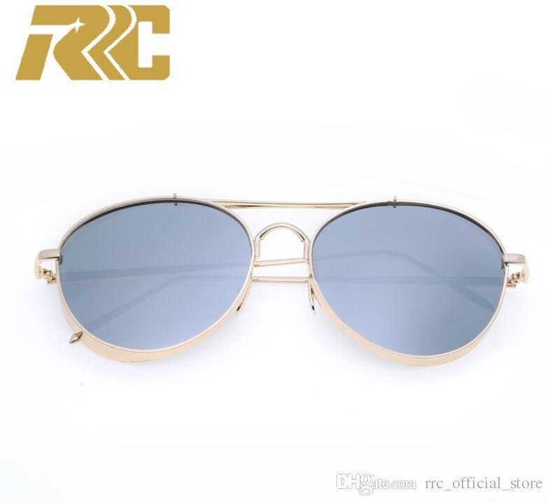 6a5514fa009 2018 RRC Ray Bain Sunglass Women Sunglasses Steampunk Sunglass Men Polarized  Sunglasses Silver Mirrored Metal Sunglasses With Metal Frame Prescription  ...