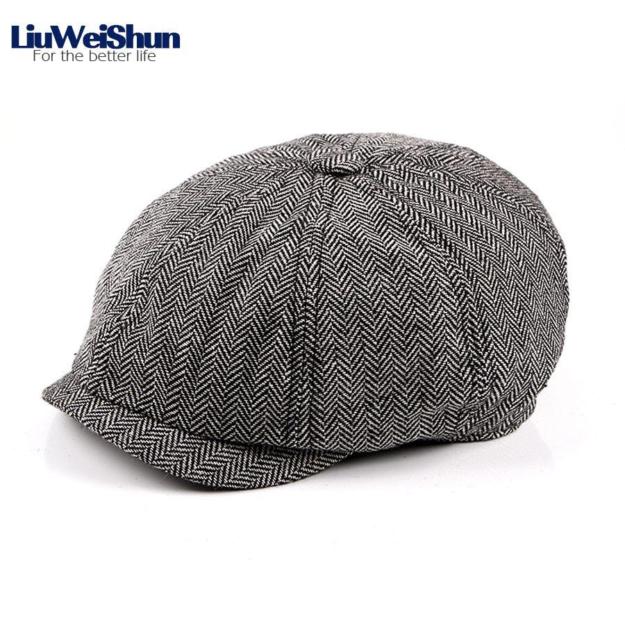 Acquista Liuweishun Retro Striped Newsboy Cappelli Uomo Cappelli Unisex Donna  Vintage Cappelli Ottagonali Pittore Cappellino Cotton Spring Beret Visor  Hat ... 6b6661475474