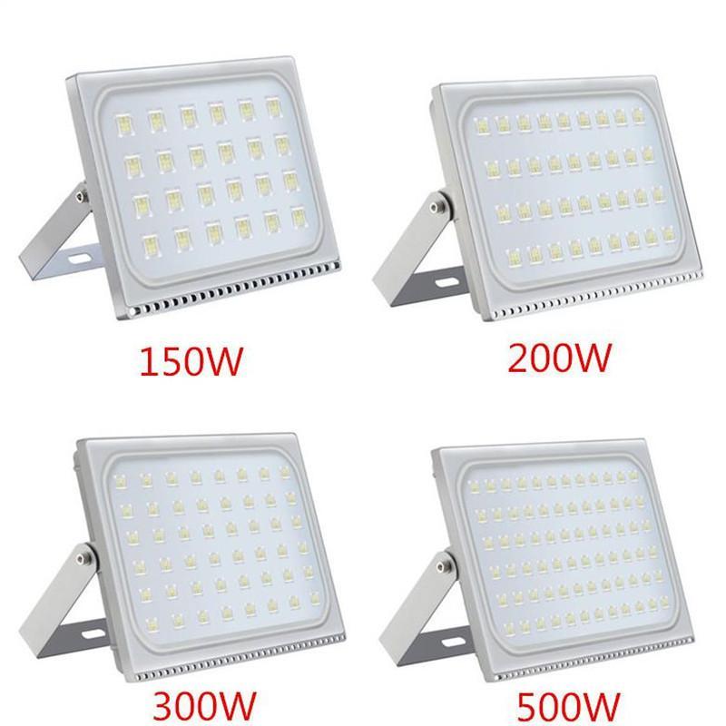 Beleuchtung 50w Led Flutlicht Scheinwerfer Strahler Silber 220v Weiß Verschiedene Stile