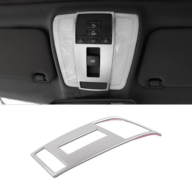 1e92d8079183 Car Roof Reading Lamp Decorative Frame Cover Trim For Mercedes Benz ...