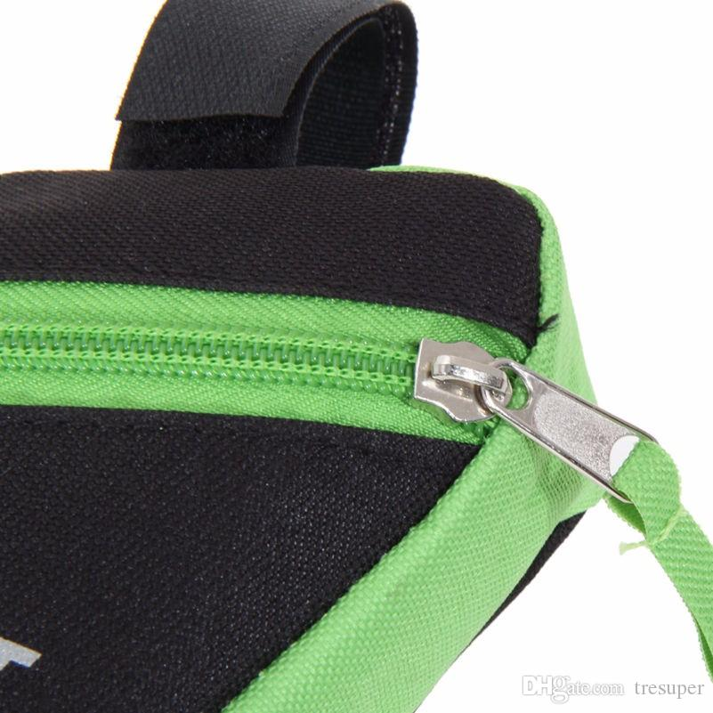 Обновление 1.5 L открытый Велоспорт велосипед треугольник передняя труба рама сумка с отражающей полосы горный велосипед сумка держатель седло мешок
