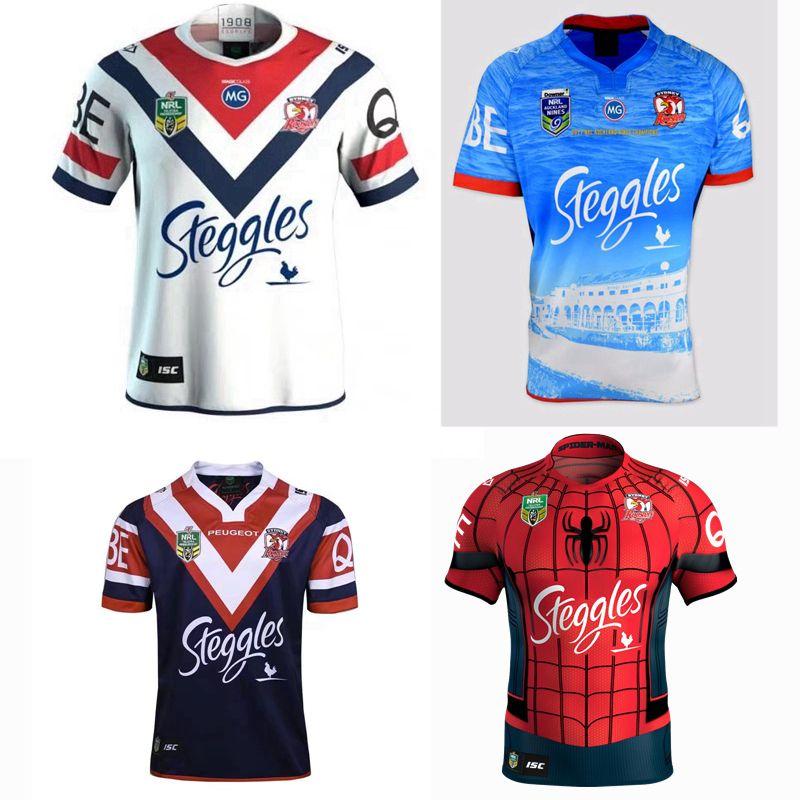 6bc36747e32 Compre NEW 2018 Sydney Roosters Nines Rugby Jersey 17 18 19 Roosters  Auckland 9 S Para Casa Camisa De 2017 S 3XL De Xx416764580, $15.21    Pt.Dhgate.Com