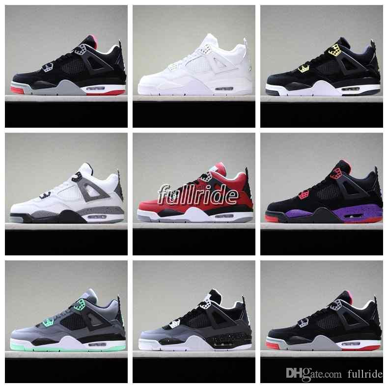 908961ff9199aa 2018 New  23 Jumpman 4 IV Travis X Houston University Blue Black Red Sports  Basketball Shoes For Men 4s Designer Trainers Sneakers Size5 13 Shoes  Basketball ...
