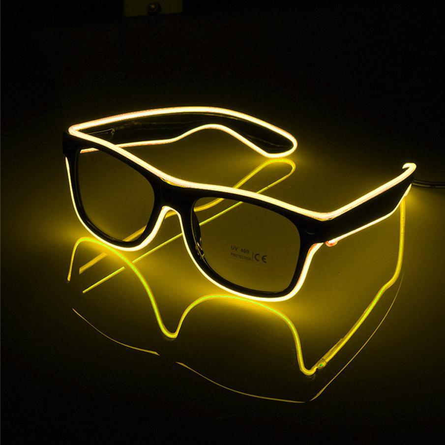 Compre LEVOU Óculos De Festa De Moda EL Fio De Óculos De Festa De  Aniversário De Halloween Bar Decorativa Fornecedor Óculos Luminosos Eyewear  De Crestech168 ... 8054db0f2d