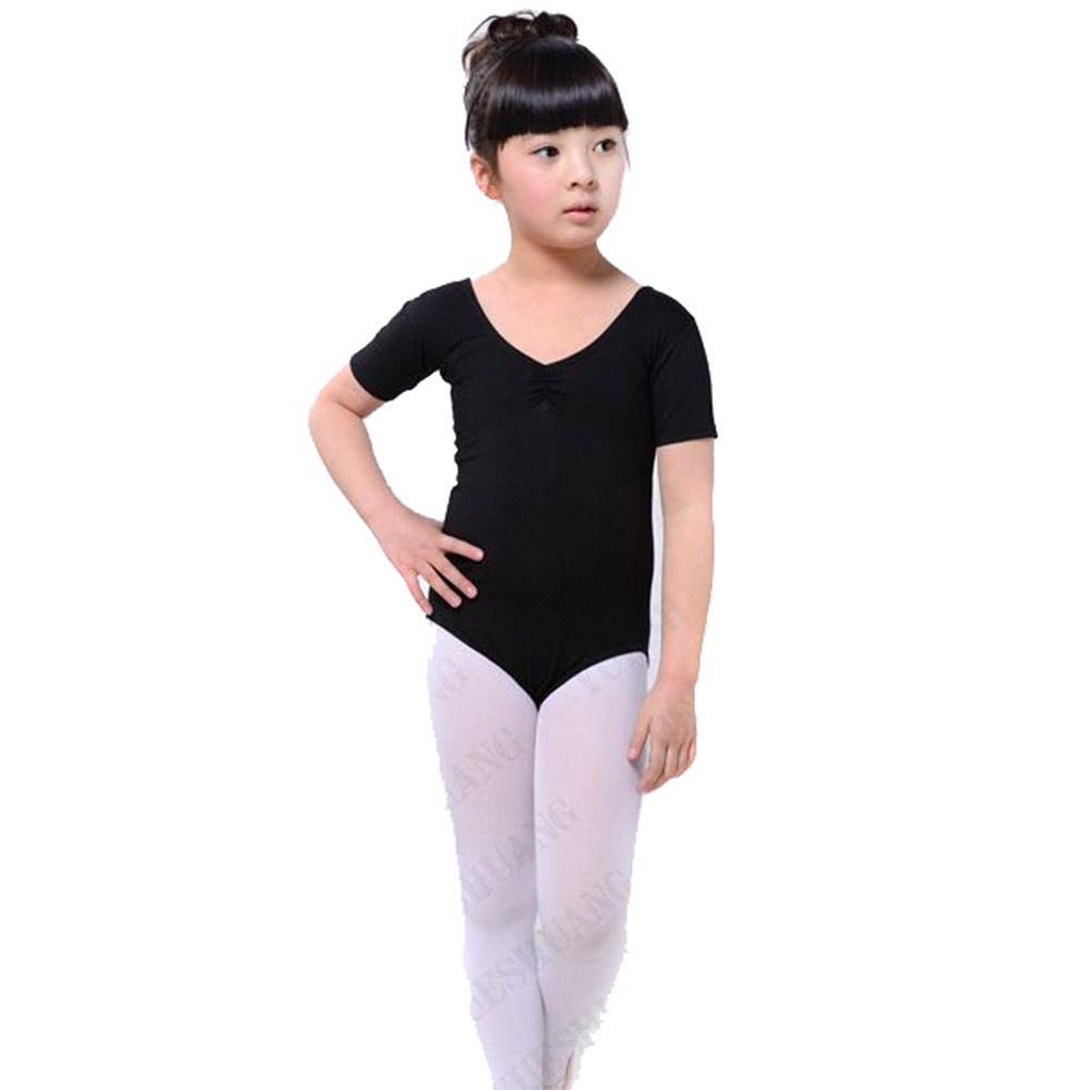 d0b73e997 2019 Kids Girls Ballet Dance Costumes Cotton Gymnastics Short ...