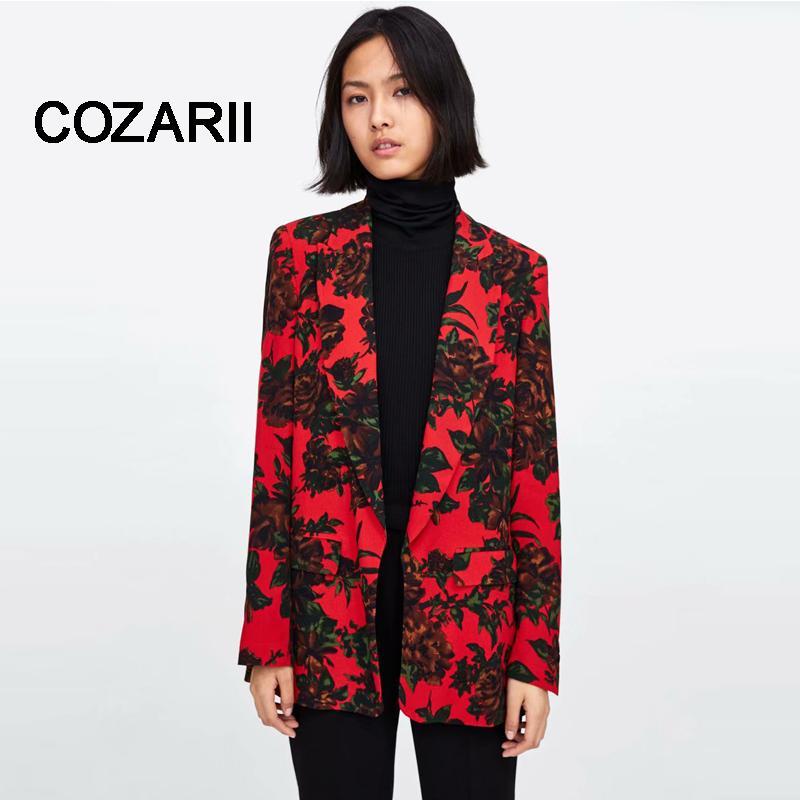 Grosshandel 2018 Formal Fashion Neu Damen Damen Herbst Druck Anzug