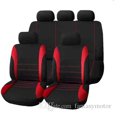 Universal Car Seat Cover Full Seat Covers Crossovers Sedans Auto Interior Accessories Full Cover Set for Car Care Full Seat Covers
