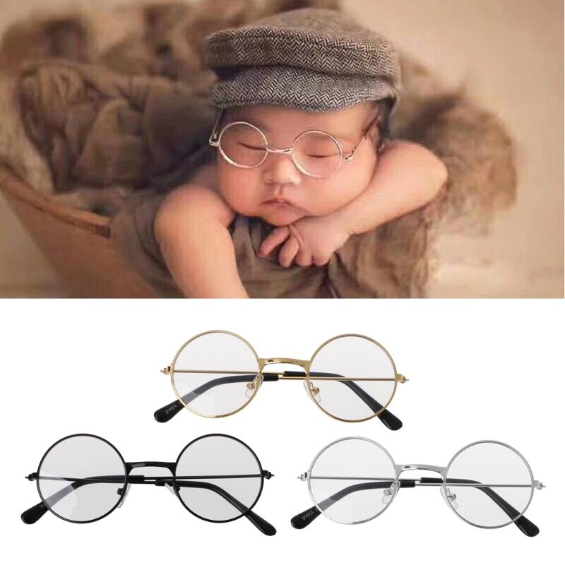 2018 newborn baby girl boy flat glasses photography props gentleman studio shoot from callshe 25 57 dhgate com