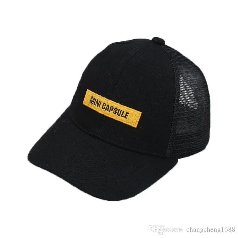 c3aec6ac4a8 Unisex Mesh Baseball Hat Letter Design Child Hat M5980 Adjustable Boys  Snapback Baseball Cap Kids Summer Girl Baseball Cap Online with  5.25 Piece  on ...