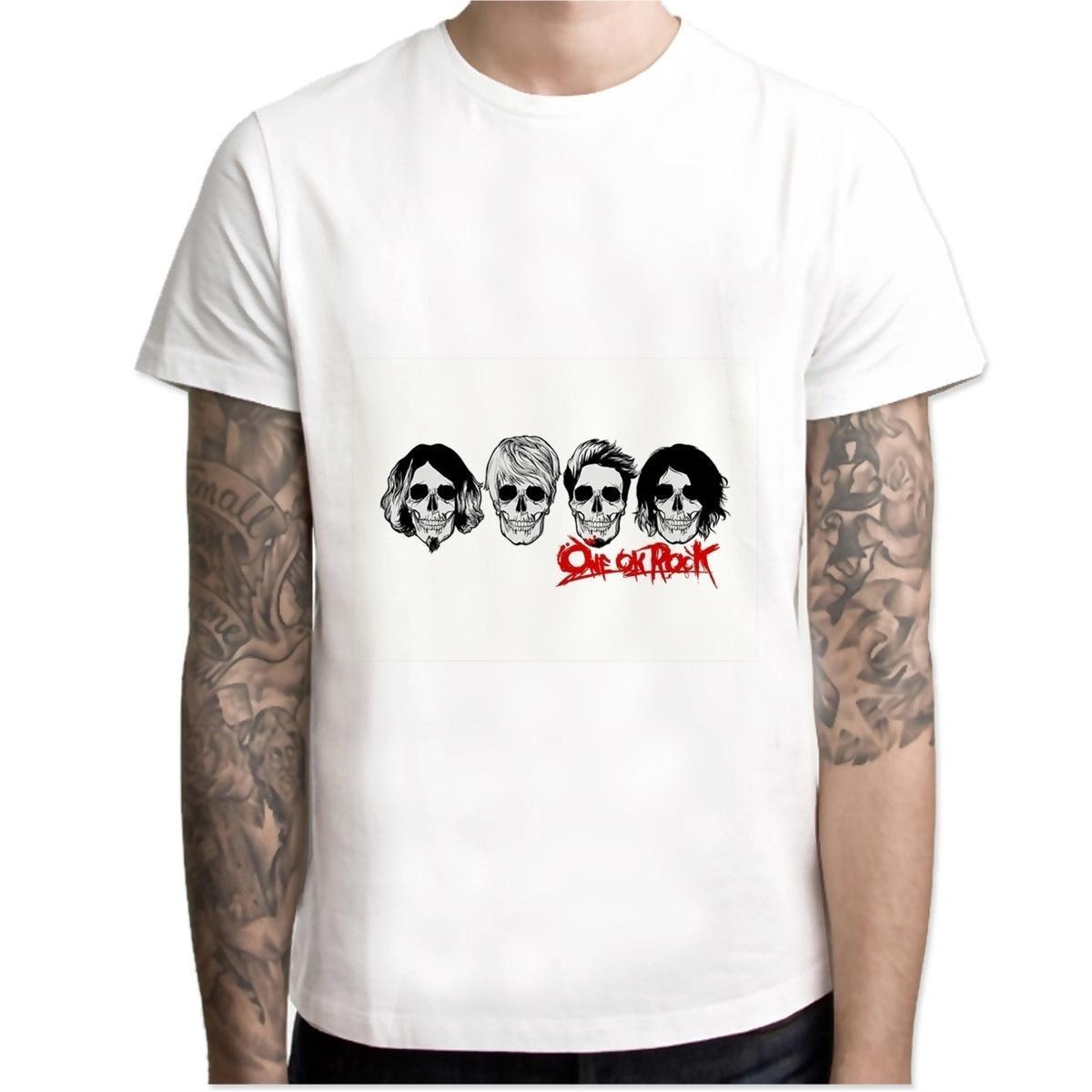 One Ok Rock T Shirt Hip Hop Style New Original Design T Shirt Cool