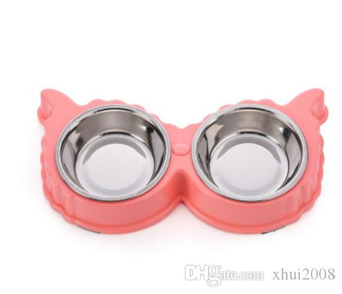2018 Cute Pet Cat Dog Stainless Steel Bowl Durable Double Cat Dog Food Storage Water Feeding Bowls Easy Cleaning Good Pet Supplies From Xhui2008 ...  sc 1 st  DHgate.com & 2018 Cute Pet Cat Dog Stainless Steel Bowl Durable Double Cat Dog ...