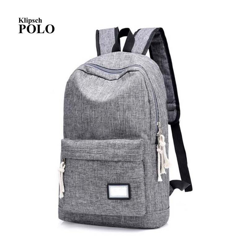d14c35a77e88 Unisex Design Backpack Book Bags For School Backpack Casual Rucksack  Daypack Oxford Canvas Laptop Fashion Man Backpacks Small Backpack Backpack  Brands From ...