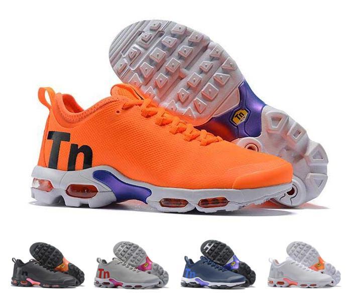 super popular c87c7 9e71e Hot Sale Men TN Plus TE White Orange Mens Running Shoes Tn Male Breathable  Mesh Pack Triple Black Men Basket Requin Chaussures Tns Shoes