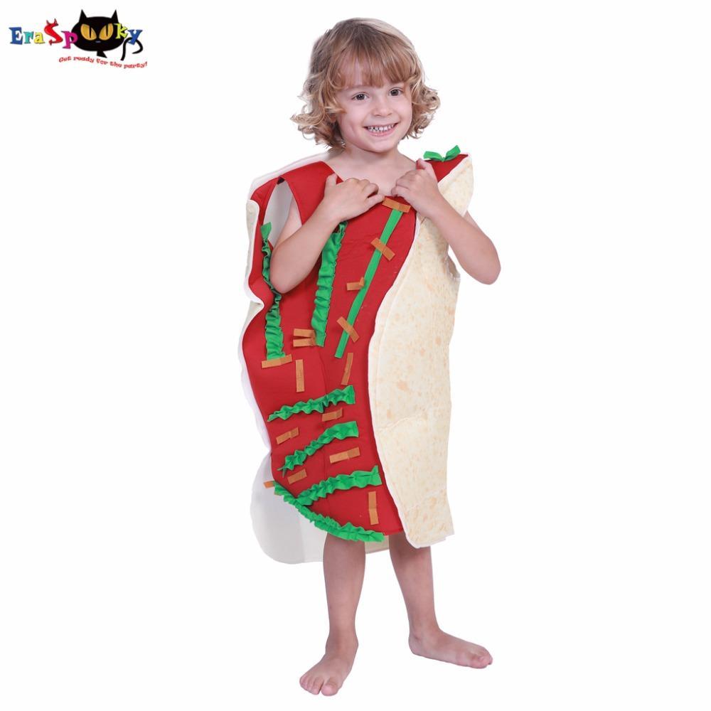 eraspooky kid costume halloweens child taco costume boys cosplay