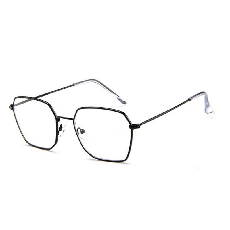 d5addb0883aa 2019 Vintage Square Glasses Frame Female Brand Designer Spectacle Plain  Glasses Gafas Eyeglasses Eyewear 2018 New From Shuidianba