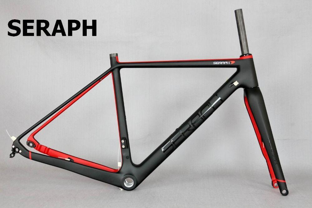 Available Gravel 700c Carbon Bike Frame,Seraph Bikes Thru Axle 142mm ...